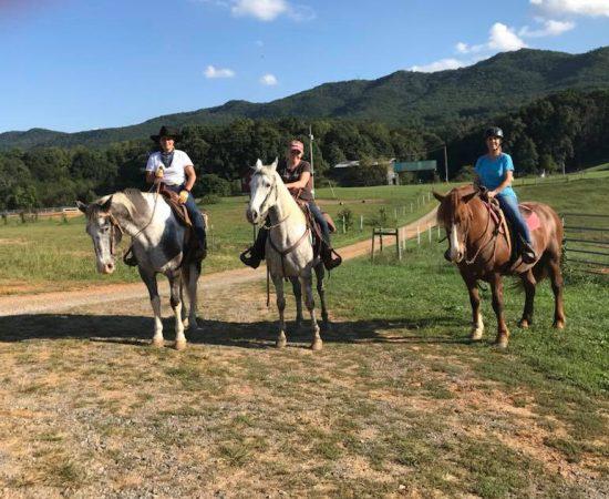 horse back riding trails